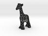 Voronoi Giraffe 3d printed