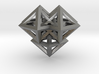 V8 Pendant. Perfect Pyramid Structure. 3d printed