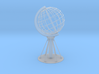 Northcape Globe with base 3d printed