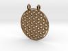 Flower Of Life Pendant (2 Loops) 3d printed