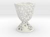 Voronoi Egg Holder 3d printed