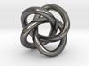 Math Art - (4,3) Torus Knot  Pendant 3d printed