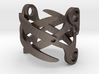Sapphic: ScissorRing size 7 3d printed