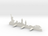 New York Skyline - Key Chain Holder Without Border 3d printed