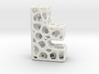 Voronoi Letter ( alphabet ) F 3d printed