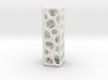 Voronoi Letter ( alphabet ) I 3d printed