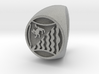 Custom Signet Ring 44 3d printed