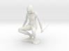 Crouching Ninja 3d printed