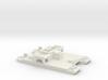 1/285 Siebel Ferry 40 Heavy Flak 3d printed