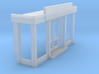 Shop front (N 1:160) 3d printed