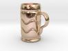 Beer Mug Keychain 3d printed