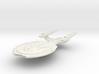 Colonial Class  BattleCruiser 3d printed