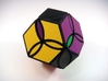 Poison Ivy Octahedron Puzzle 3d printed Four Turns