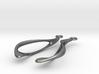 Flow Earrings 3d printed