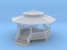 24 Ft Gazebo With Benches Z Scale 3d printed Gazebo 24foot z scale