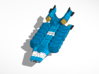 Haydron Blorr Class Transport 3d printed Ship with small pods