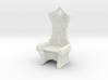 Ornate Eldar Chair  (Elvish Style Chair)) 3d printed