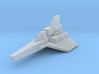 Viper Mk I (Battlestar Galactica), 1/270 3d printed