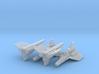 Viper Mk I Wing (Battlestar Galactica), 1/350 3d printed
