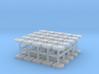 1/32 Scale Rectangular Slamlocks 3d printed