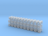 Truck Tool Box Handles 1-87 HO Scale (40-20 Pack) 3d printed