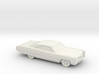 1/87 1966 Pontiac Bonneville Coupe 3d printed