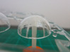 Bussard Dome Assembly - 1:600 - 01 3d printed Printed part inside the outer dome.
