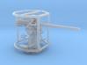 1/87 3 inch 50 cal USN deck gun 3d printed