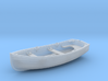 1/96 Scale Allied 10ft Dinghy 3d printed 1/96 Scale Allied 10ft Dinghy