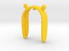 WINNIE THE POOH KEYFOB FOR MINI COOPER F MODELS 3d printed
