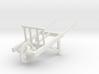 18th Century Utility Wheelbarrow 1/24 3d printed