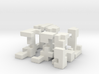 Cubed Burr II 6 cm version 3d printed