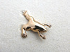 Xenopus Lapel Pin  3d printed Xenopus lapel pin in polished bronze