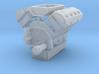 AJPE 1/24 Hemi Single Blower Manifold 3d printed