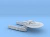 Terran Graf Spee Class Strike Cruiser - 1:7000 3d printed
