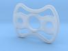 Double skeletonized fidget spinner 3d printed
