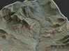 Sedona, Arizona, USA, 1:100000 Explorer 3d printed Old town Sedona and the beginning of Oak Creek Canyon