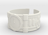 2 Minutes To Midnight #1, Ring Size 13 3d printed