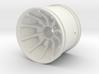 Turbine Styled Wheel (Dukes of hazzard) 3d printed