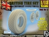 1-18 Chevy LRDG Sample Tire And Rims For FUD 3d printed