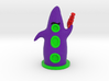 The Purple Tentacle 3d printed