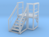 Pump House Stairs in O 3d printed