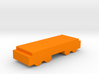 Game Piece, Freight Train Flat Car 3d printed