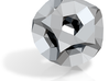 Drilled Truncated Dodecahedron 3d printed
