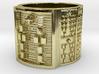 BABA OTURA MEYI Ring Size 11-13 3d printed