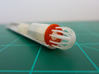 Bussard Dome Assembly - 1:1000 - 01 3d printed Printed part attached to mini motor in kit nacelle part.