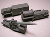 1/285 Sacle M504 semitrailer, launch station, MGM- 3d printed