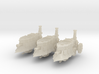 10mm Imperial Heavy Steam Tanks (3pcs) 3d printed