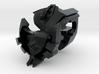 Nautical Femmebot head (Black Acrylate parts) 3d printed