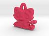 Kittyou tag/pendant 3d printed